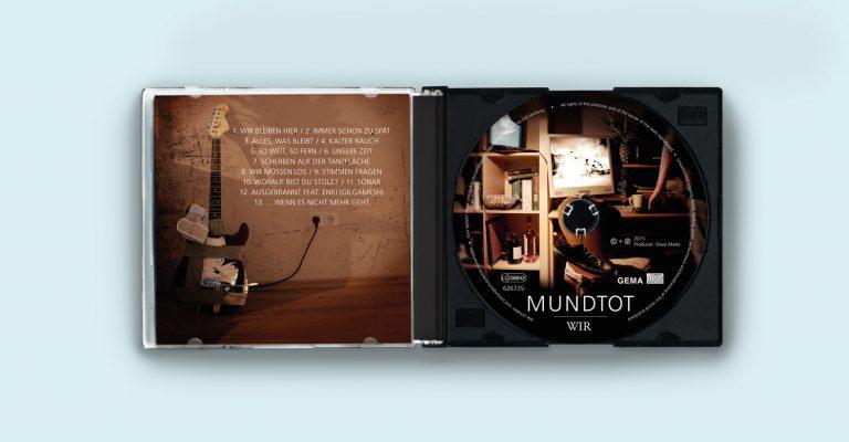 Albumdesign der Rockband »Mundtot«